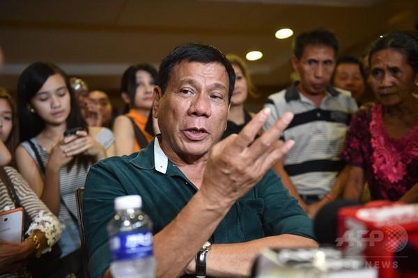フィリピン次期大統領、死刑制度復活の意向表明