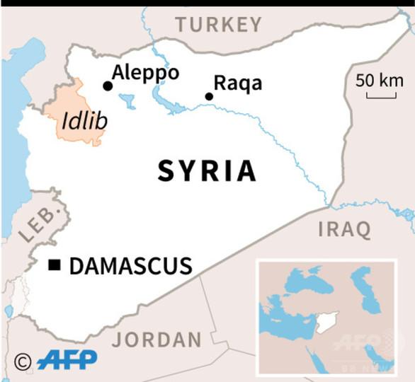 シリアのイドリブ県、ISから解放 戦闘員ら投降
