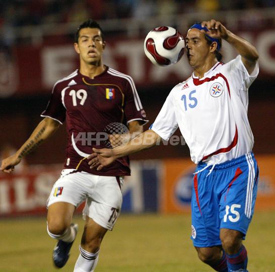 パラグアイvsベネズエラは1-1のドロー