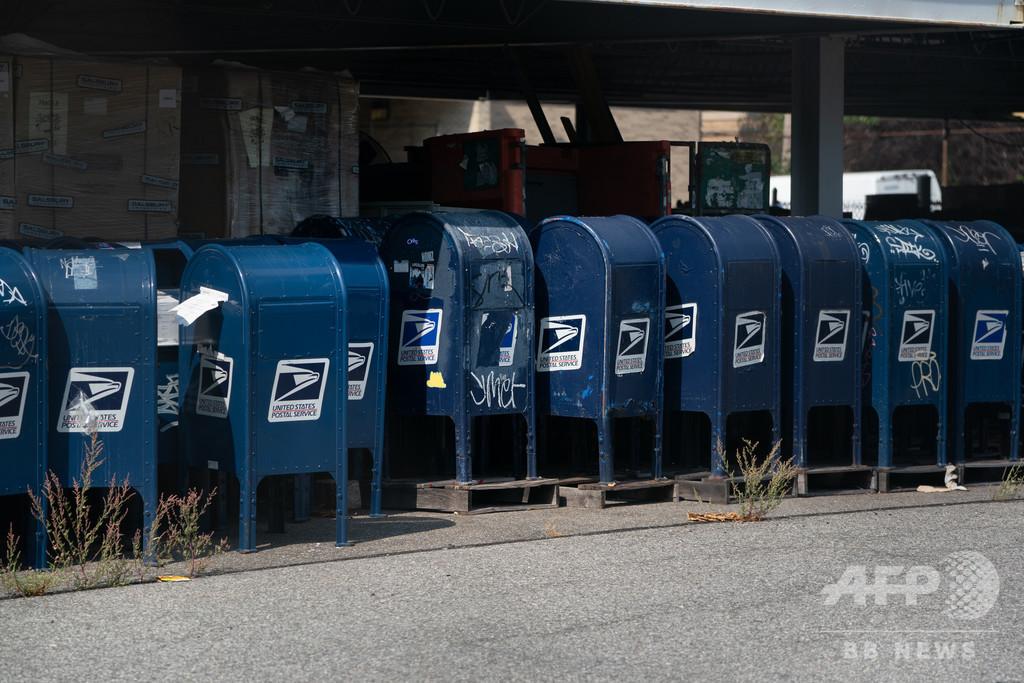 トランプ氏の「郵便投票批判」 米大統領選の新たな障壁