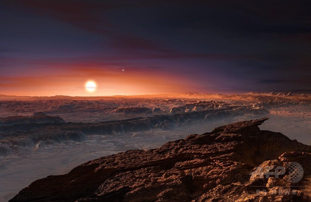 惑星「プロキシマb」に海か、太陽に最も近い恒星系 研究