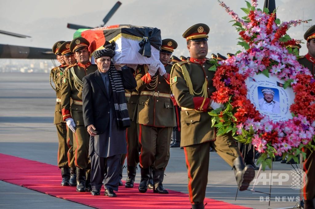 アフガンの空港で中村哲さんの追悼式典、遺体は日本へ