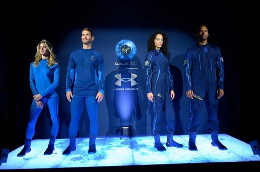 ヴァージン・ギャラクティック、宇宙服を公開 アンダーアーマーがデザイン