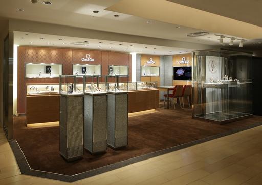 「オメガ」松屋銀座店をリニューアルオープン、12月27日までフェア