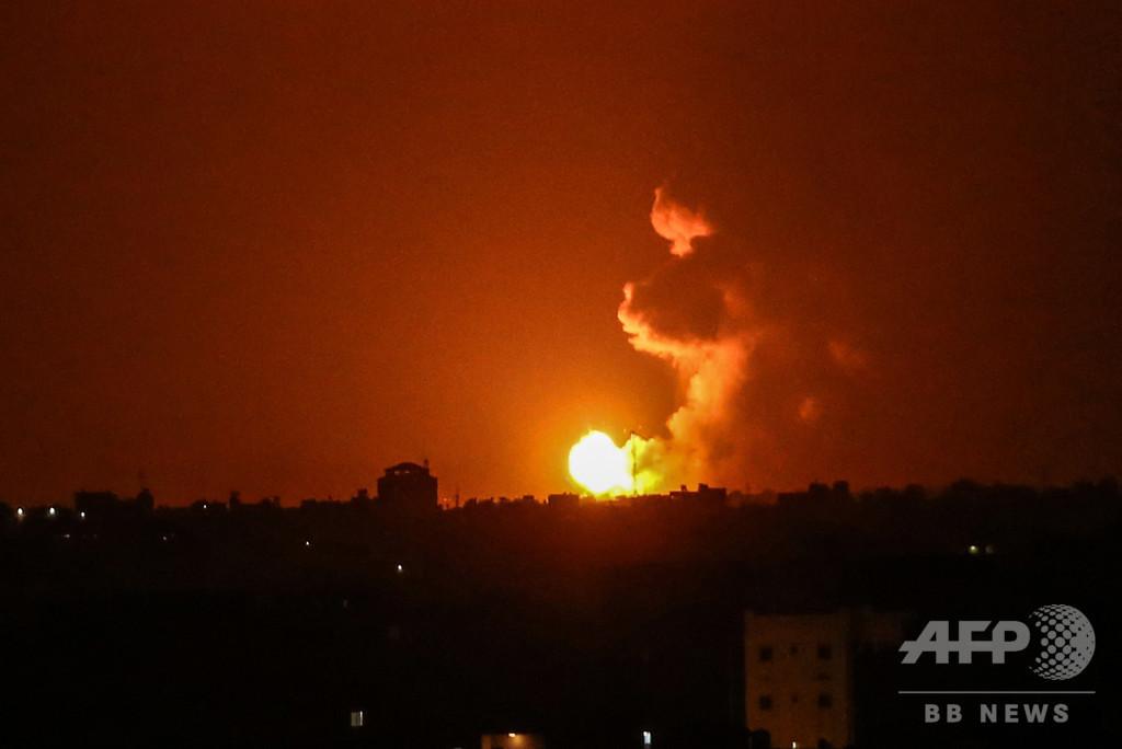 イスラエルがガザ地区空爆、前日にガザからロケット弾