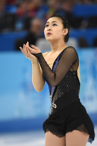 フィギュア女子シングルで12位の村上佳菜子、ソチ五輪
