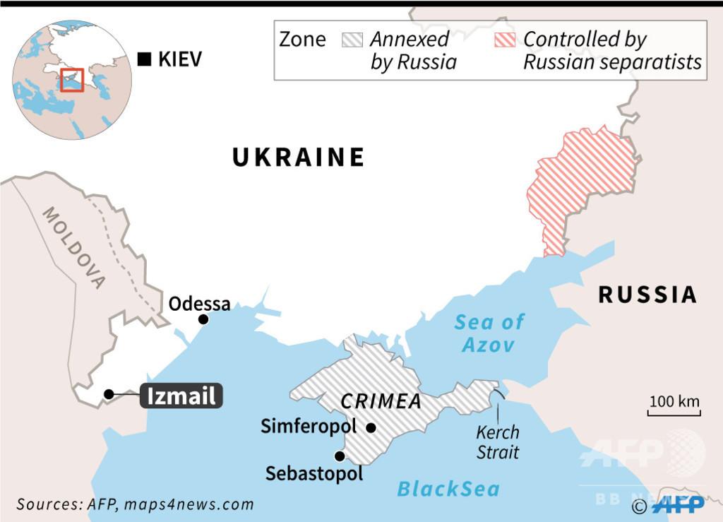 ウクライナ、ロシアのタンカー拿捕 ロ外務省は「重大な帰結」警告