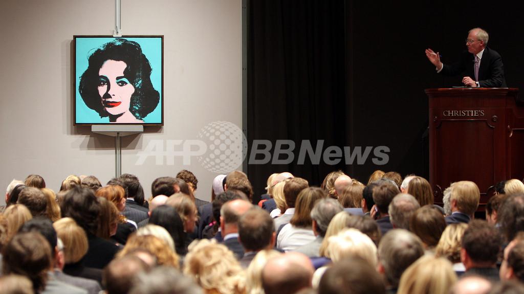 クリスティーズ・オークションで現代アート完売、ロスコの作品が最高値