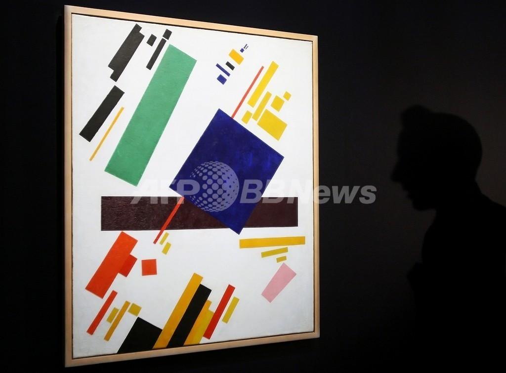 ロシア人画家抽象画、NYで59億円の高額落札