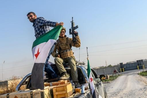 シリア北東部で民間人26人死亡 トルコ側部隊、攻撃拡大