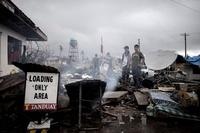 「想像を絶した」フィリピンの台風、自然災害専門カメラマンが語る