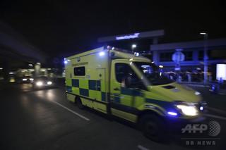 ロンドンのナイトクラブで酸攻撃か、12人負傷