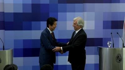 動画:安倍首相、ウルグアイ・パラグアイ訪問 日本の首相初