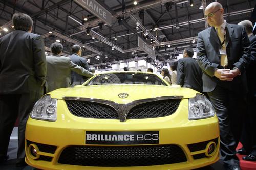 中国自動車大手ブリリアンス、欧州市場に初進出 - スイス
