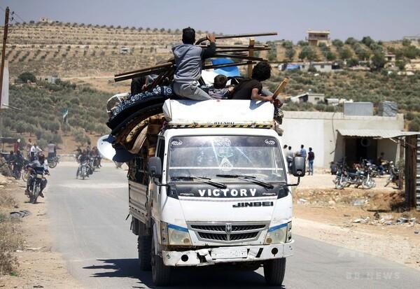 シリア南部、反体制派が支配していた8つの町が政権側に ロシアが交渉仲介