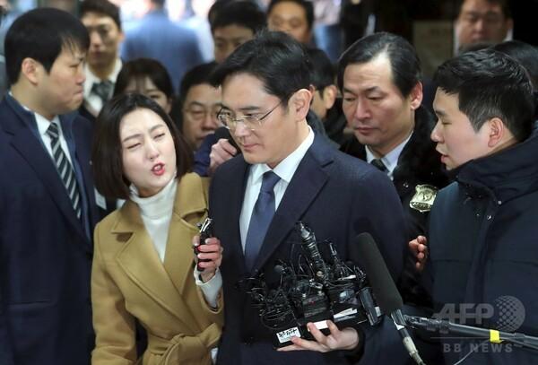 サムスン副会長を逮捕、汚職捜査の一環で 韓国