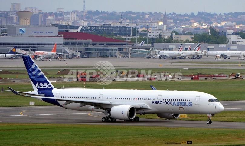 日本航空、エアバス機を初購入へ A350を31機
