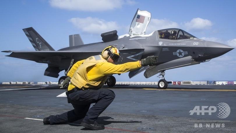 米F35戦闘機、初の実戦投入 アフガンの対タリバン任務で