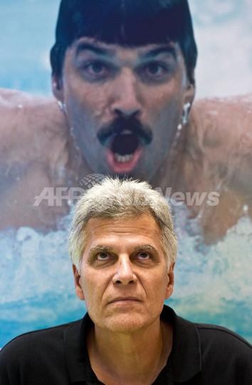 競泳の最多金メダル保持者スピッツ氏、「誰も北京に招待してくれない」