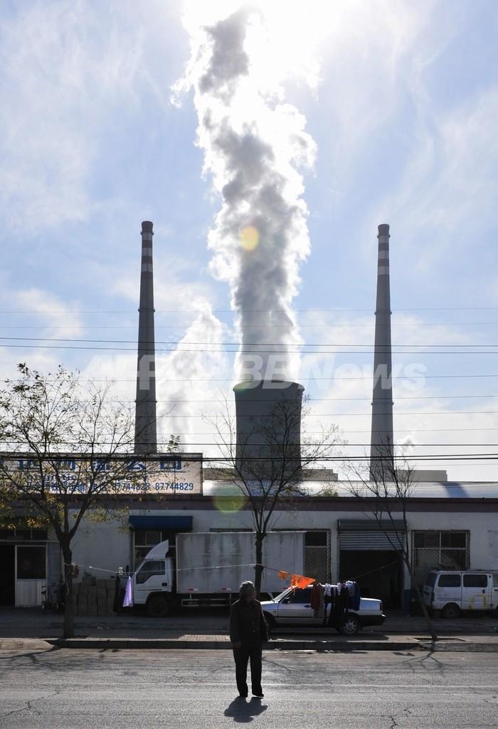 中国、2050年から温室ガス排出削減へ 英紙FT