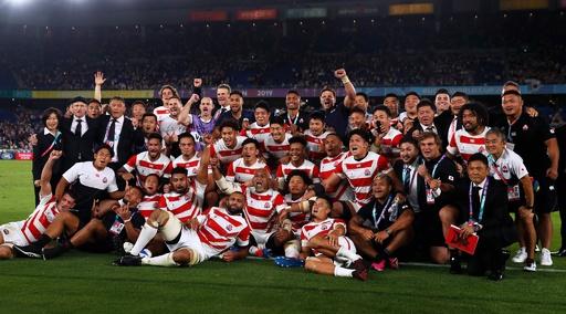 日本が初の決勝トーナメント進出! ラグビーW杯8強出そろう
