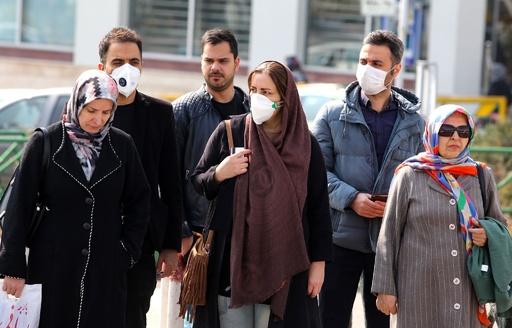 イラン、新型ウイルスの死者5人に 学校や文化施設の閉鎖指示