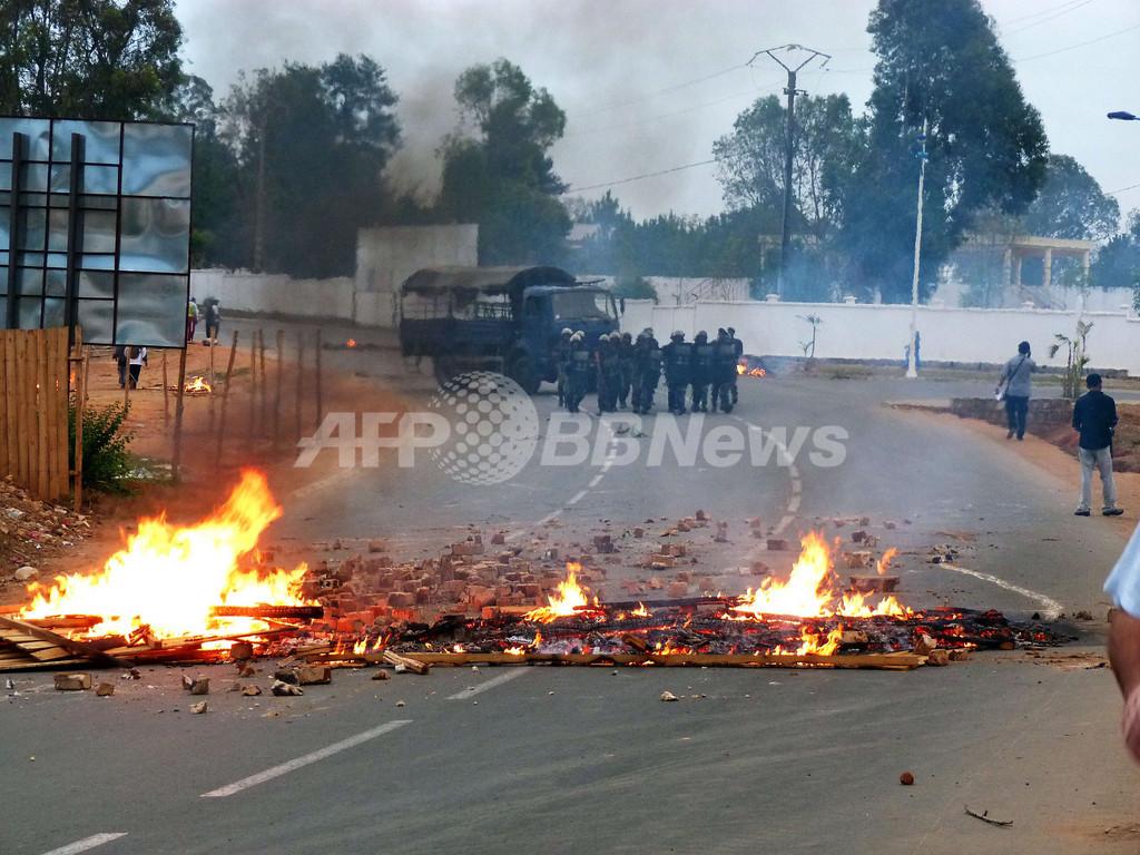マダガスカルで軍の一部が「実権掌握」を宣言
