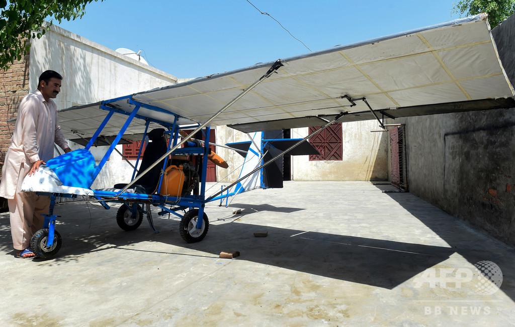夢を実現! ポップコーン売りが造った飛行機 パキスタン