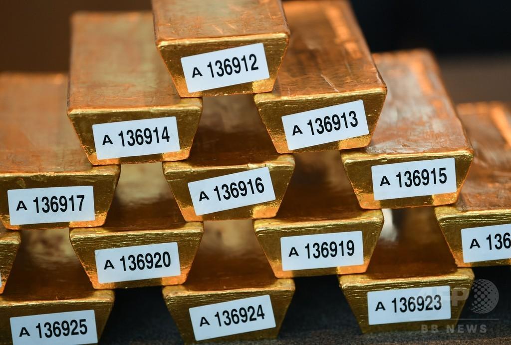 ドイツ中銀、フランスで預けていた金塊を本国に輸送 3年前倒し