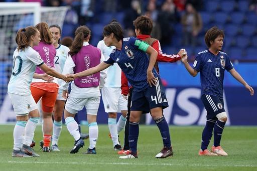 なでしこの女子W杯はドロー発進、アルゼンチンが歴史的勝ち点