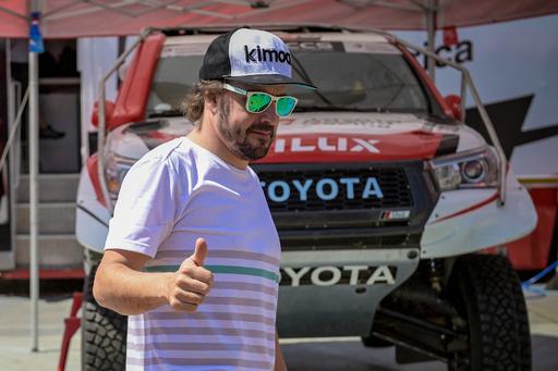 アロンソ、トヨタからダカールラリー参戦 サウジ開催の2020年大会