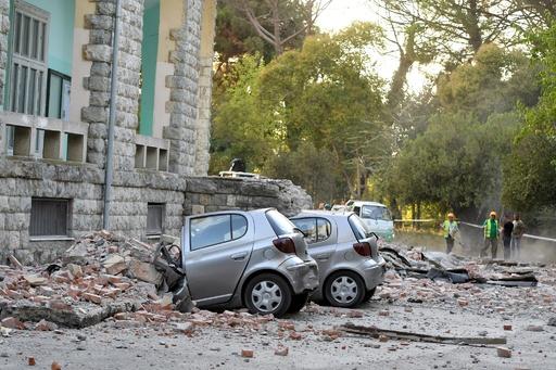 アルバニア地震、建物倒壊の原因は建築基準違反 9人逮捕