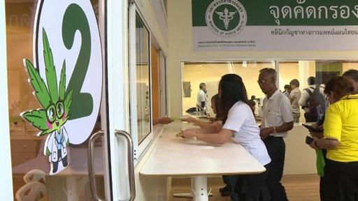 動画:東南アジア初の医療用マリフアナ解禁国、タイで専門クリニック開業