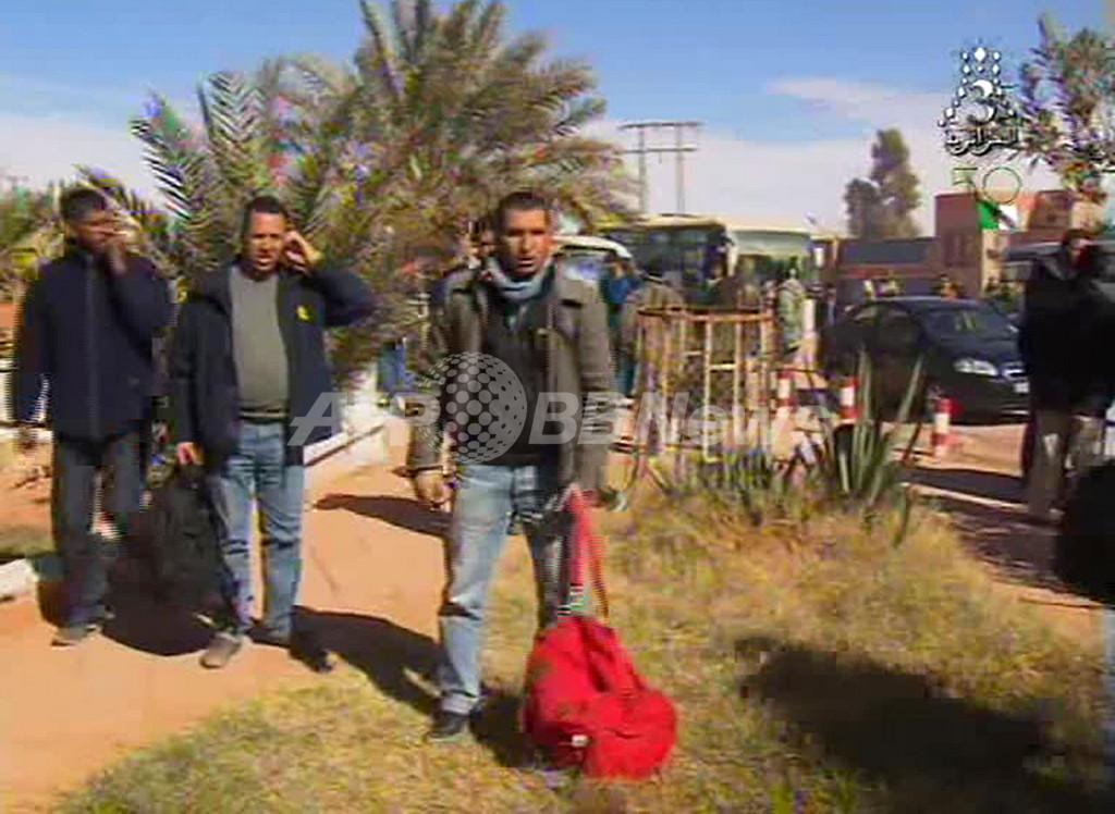 アルジェリア人質事件、軍が武装勢力の5人を拘束 現地報道