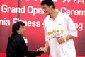 ヤオ・ミン選手の名前を冠したフィットネスクラブがオープン
