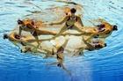 【特集】水の中でも美しい!欧州水泳選手権のシンクロ演技