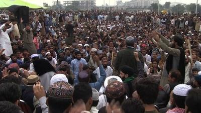 動画:パキスタン最高裁、冒涜の死刑判決覆す イスラム強硬派が猛反発