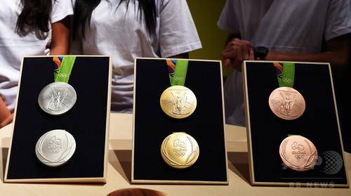 リオ五輪のメダル、メッキが剥がれるなどの欠陥が発覚