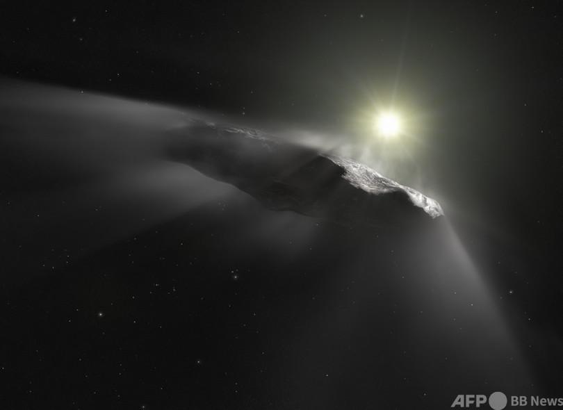 「宇宙人の船は地球を訪問済み」 米ハーバード大の天文学者が新著