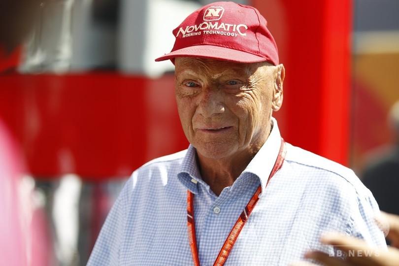 F1名ドライバーのラウダ氏が退院、8月に肺移植