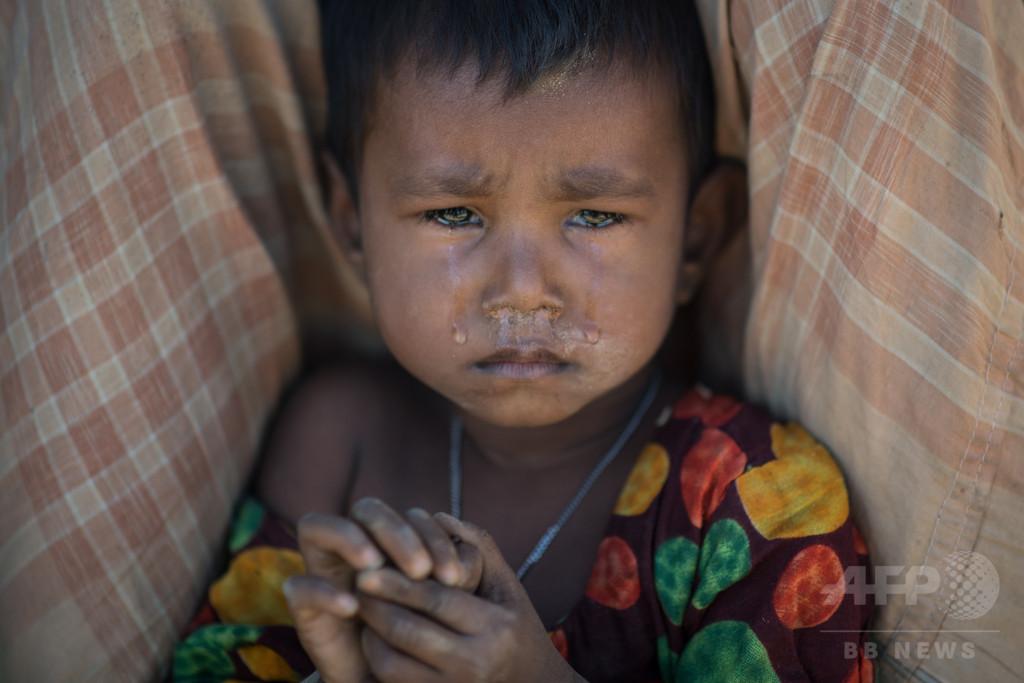 ミャンマーのロヒンギャ迫害に「大量虐殺の性質」 国連特別報告者