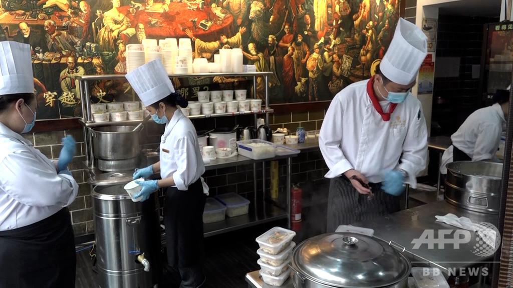武漢市の五つ星高級ホテルが道端で露店を開設、種類が豊富で価格も庶民的