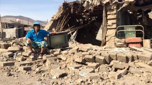 動画:ペルー南部でM7.3の地震、 2人死亡65人負傷