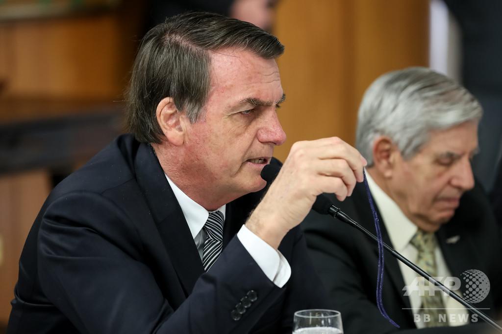 ボルソナロ大統領、ブラジルの飢餓問題は「ポピュリストの大うそ」