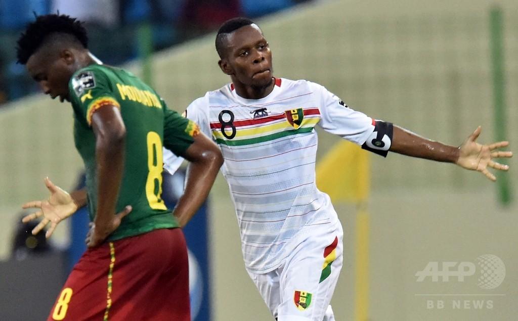 カメルーンとギニアもドロー、D組は大混戦に アフリカネイションズカップ
