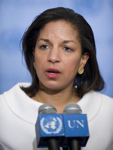米オバマ政権のライス新国連大使、イランとの直接外交を示唆