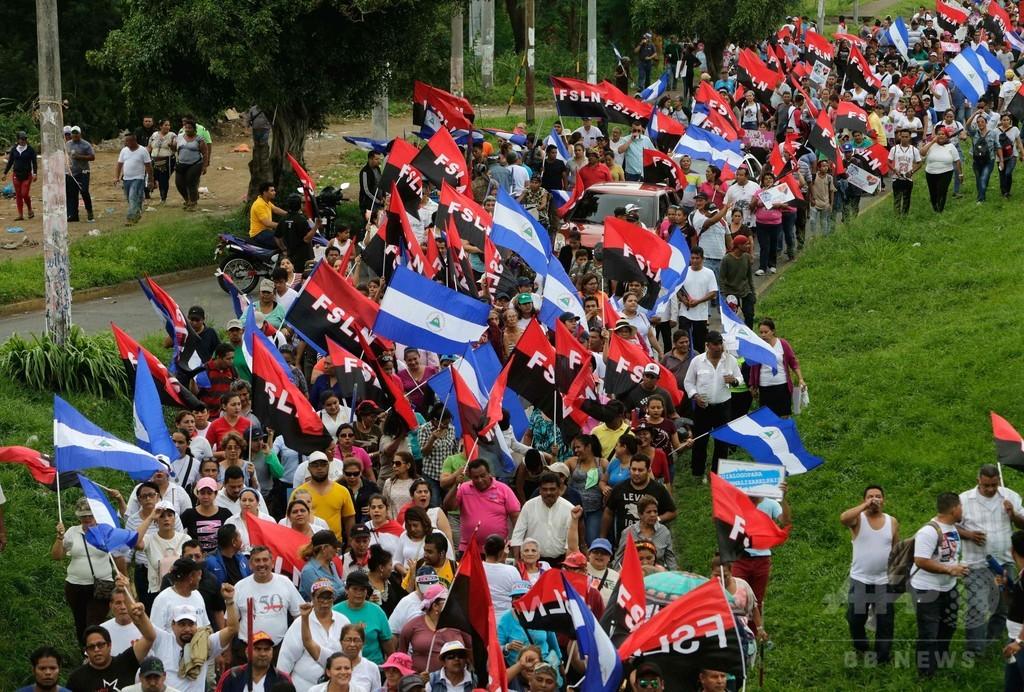 ニカラグア大統領、選挙前倒しの可能性を排除