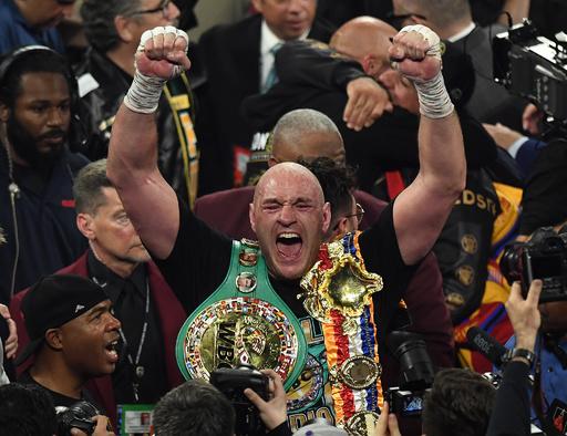 フューリーに薬物違反めぐる新疑惑、WBCは王座維持を信じる