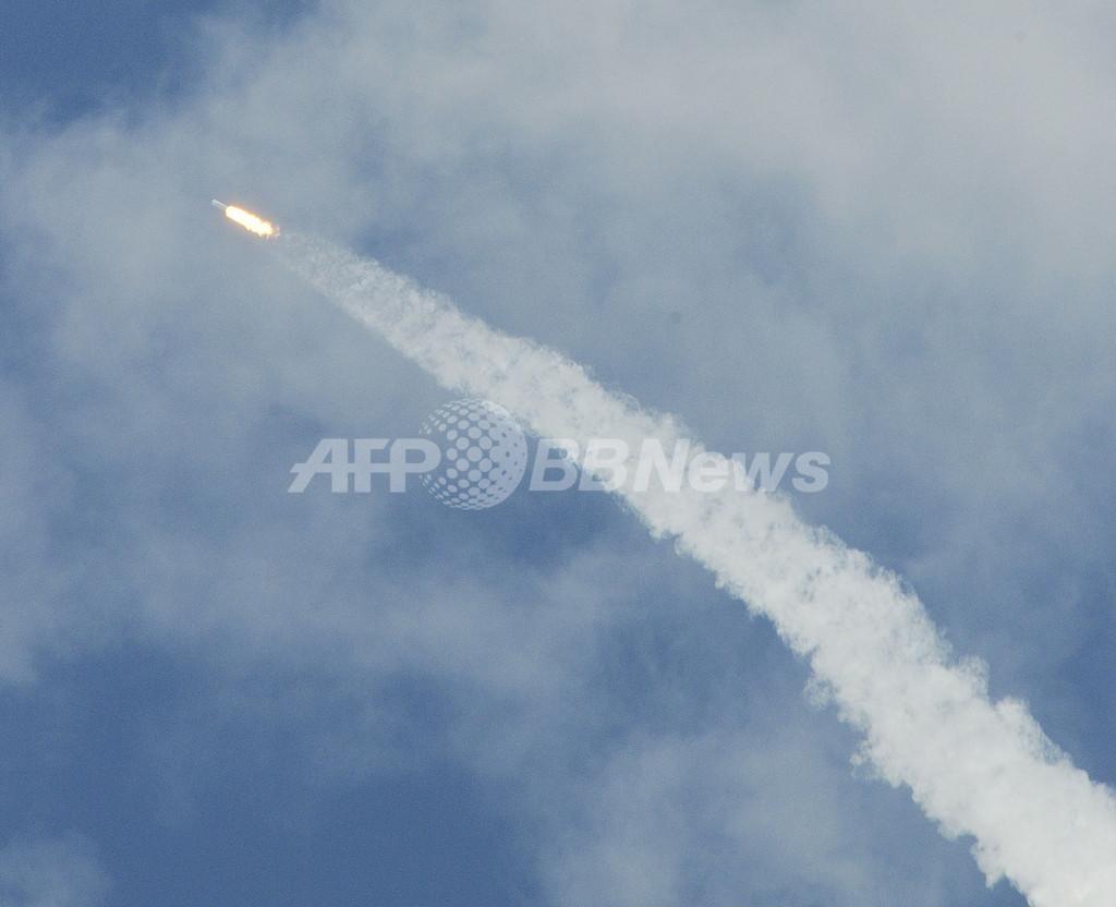 豪州東部でUFO目撃情報相次ぐ、正体は米企業のロケット