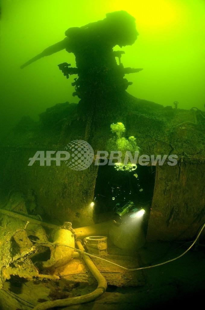 シャンパンが見つかった難破船からビールも発見、フィンランド